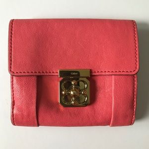 Chloe Elsie short flap wallet